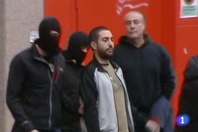 Detención de Andeka Jurado en 2015