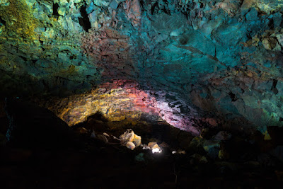 Multicolored Thrihnukagigur Magma Chamber in Iceland