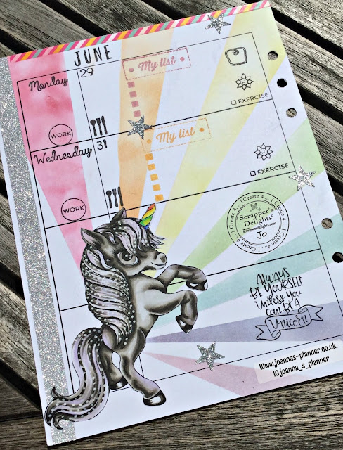 scrappers-delight-joanna`s-planner-unicorn-rainbow