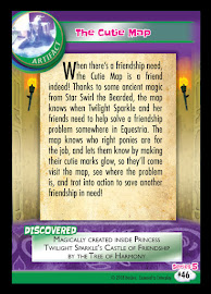 MLP The Cutie Map Series 5 Trading Card