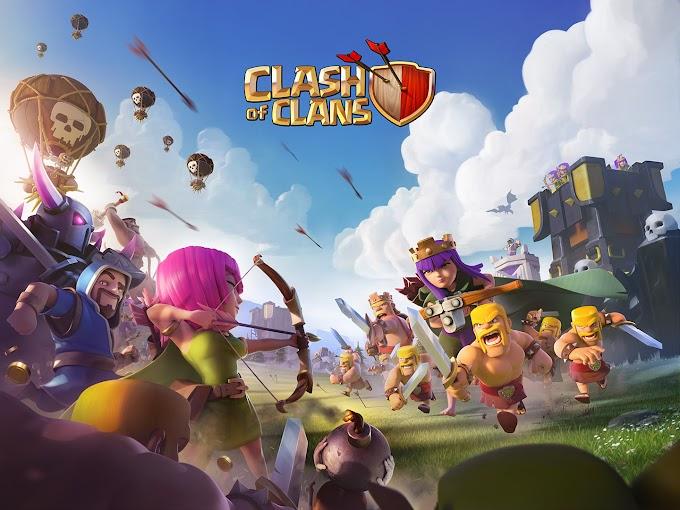تحديث أكتوبر للعبة clash of clans