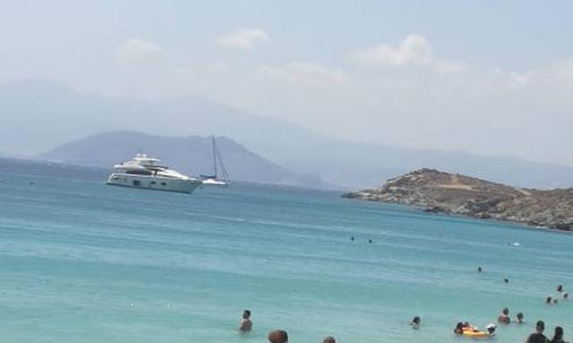 Επεισόδιο με τουρκικό σκάφος στον Άγιο Προκόπιο Νάξου