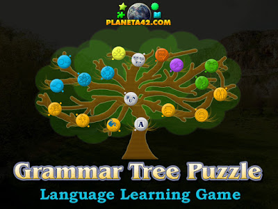 Grammar Tree Game