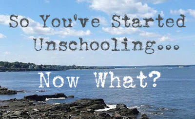 So You've Started Unschooling... Now What? Tips On Not Stressing Out As You Start Your First Unschool Year