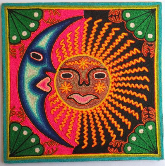Kathy's AngelNik Designs & Art Project Ideas: Mexican Sun ...