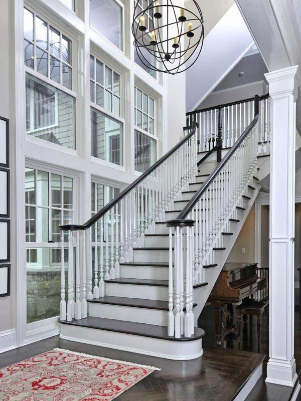Lighting Basement Washroom Stairs: DesigningLuxury.com: Staircases We Love