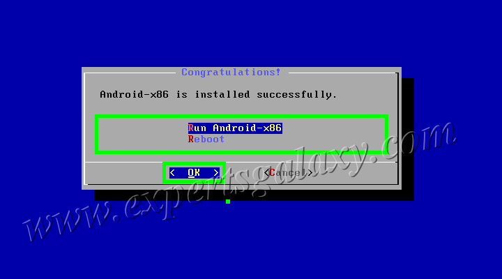 Virtually Installed Android OS