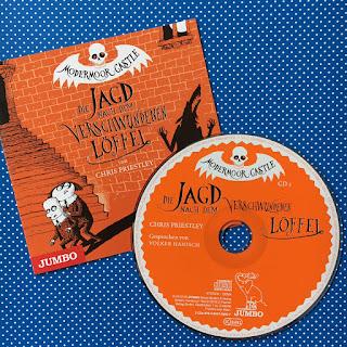 Modermoor Castle: Die Jagd nach dem verschwundenen Löffel, Chris Priestly, Volker Hanisch, Jumbo, Hörbuch-Rezension von Kinderbuchblog Familienbücherei