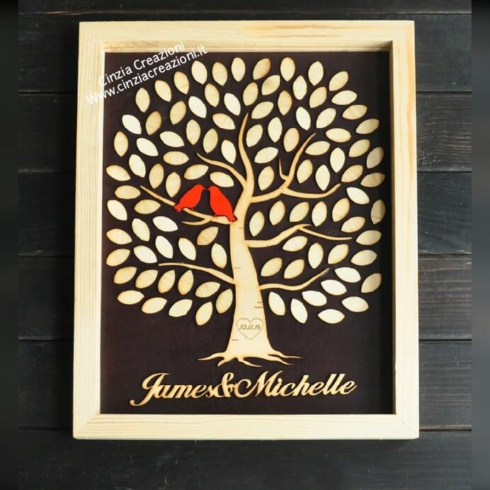 Matrimonio Tema Albero : Cinzia creazioni articoli matrimonio matrimonio tema albero