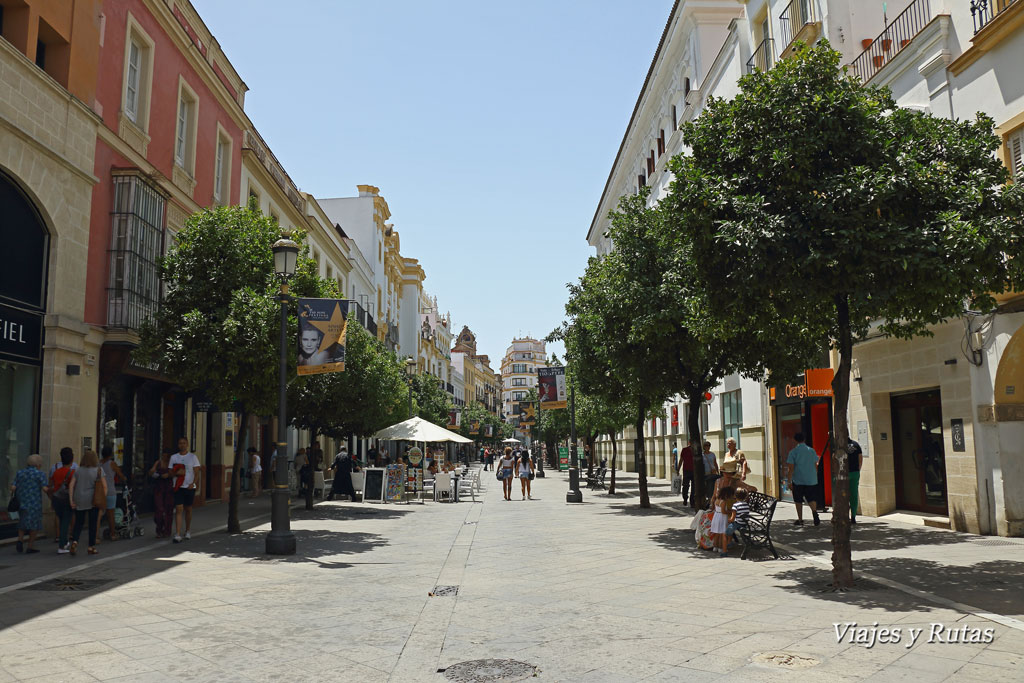Calle larga, Jerez
