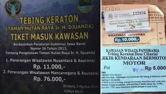 Eksostisme Natural Beauty Tebing Keraton Bandung
