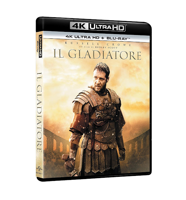 Il Gladiatore Home Video