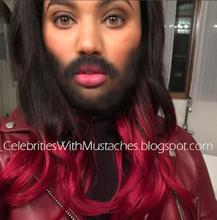 Ayesha Curry grows out her beard.