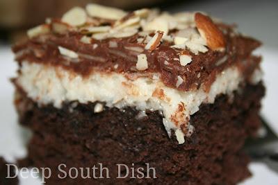 Deep South Dish Almond Joy Cake