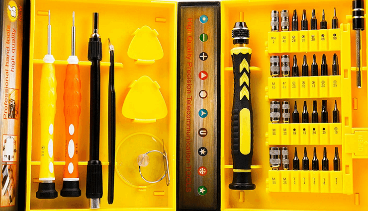 Tintec 38-Piece Precision Computer Repair Tool Kit