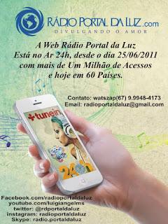 Web Rádio Porta da Luz no blog EspiritualMente