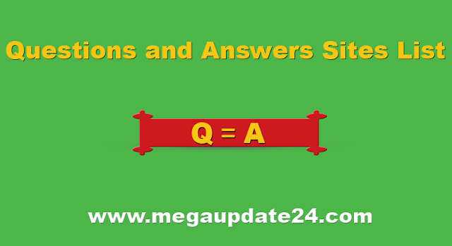 question and answer sites, best question and answer sites list, Best question and answer sites