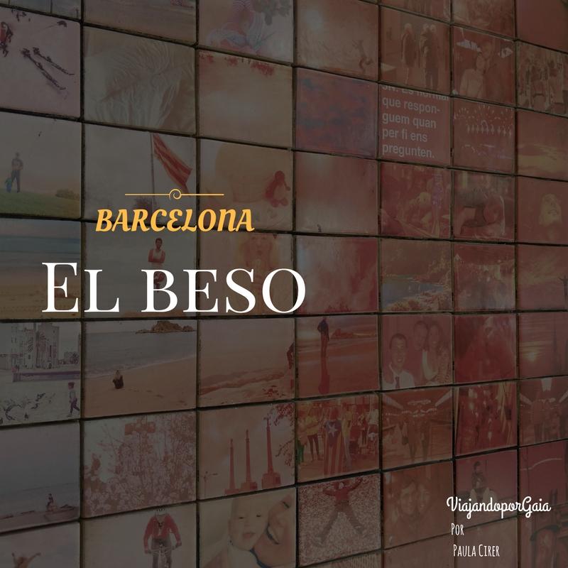 El beso de Barcelona