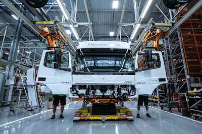 Tecnologias em ação na Mercedes Benz