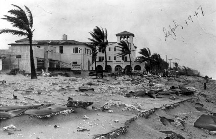 Royal Palm Beach Resort Hurricane Damage