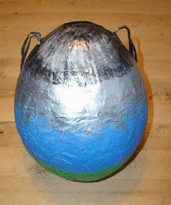como hacer una piñata sencilla