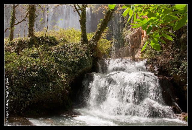 Cascada Baño de Diana Monasterio de Piedra