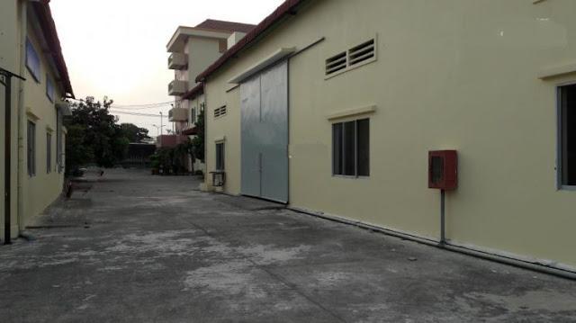 Cho thuê nhà xưởng mặt đường Lê Thị Riêng, phường Thới An, q12. DT: 3400m2 giá 170tr/tháng