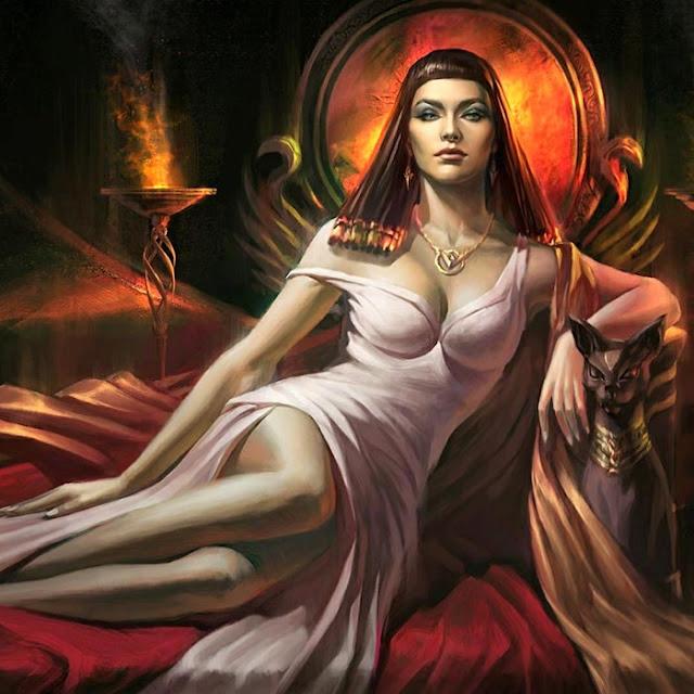 Cleopatra Queen of Egypt Wallpaper Engine