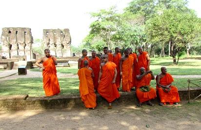 Monks, Sri Lankan Monks