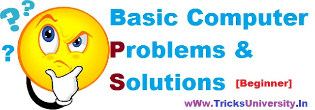 Basic Computer Problems and Solutions[beginner]