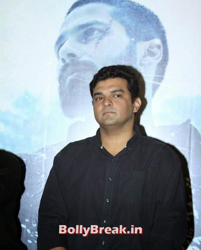 Siddharth Roy Kapur, Shraddha & Shahid Kapoor at 'Haider' Trailer Launch