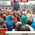 एमडीएम रसोईया संघ ने समाहरणालय के सामने किया विशाल प्रदर्शन