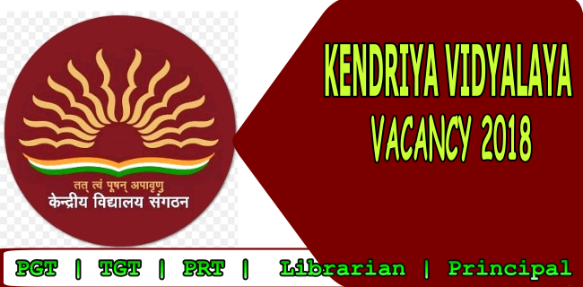 kvs recruitment 2018-19, kvs 2018 notification