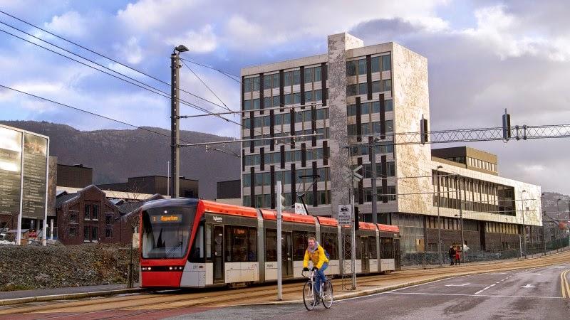 Den nye Høgskolen i Bergen, Kronstad, bilde