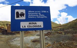 Yacimiento de antimonita en Bolivia - donde se extrae junto con otros minerales - foro de minerales