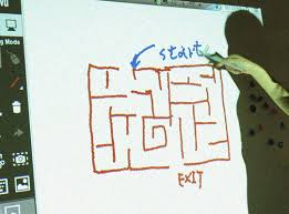 Make a Maze on a Whiteboard