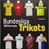 Livro mostra a história das camisas dos times da Bundesliga desde 1963