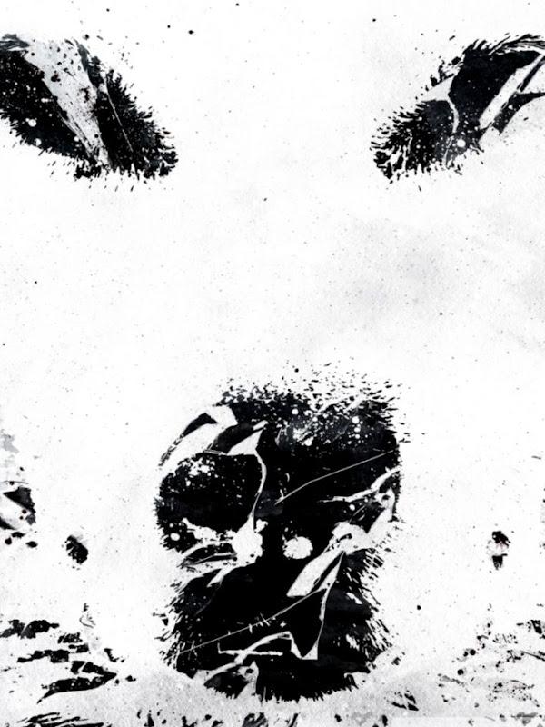 Iphone Black Lone Wolf Wolf Wallpaper