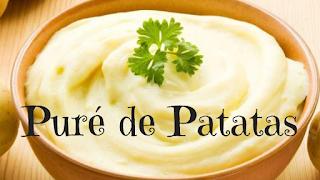 como hacer pure de patatas casero