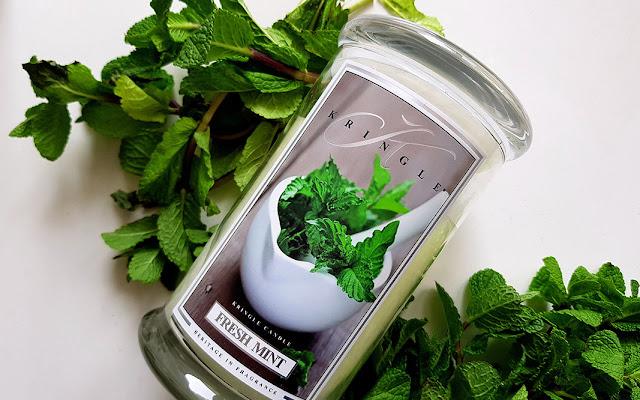 Idzie wiosna :) Fresh Mint - Kringle Candle - Czytaj więcej »