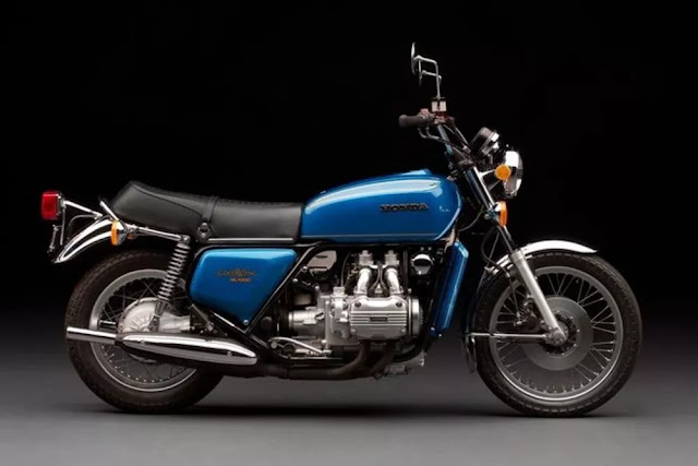 Honda Gold Wing GL1000 1970s Japanese classic motorcycle