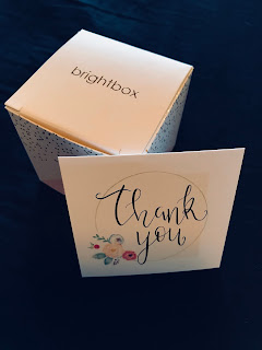 birghtbox thank you note