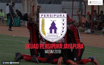 Daftar Pemain Persipura Jayapura 2018