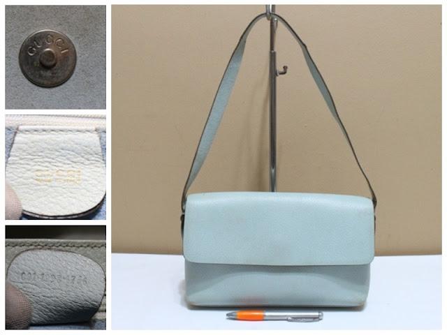 715567246018 jual tas second bekas branded original asli sling selempang bonia fossil.  GUCCI