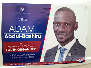 Meet Adam Abdul - Bashiru : NPP Youth Organiser Aspirant For North East Region