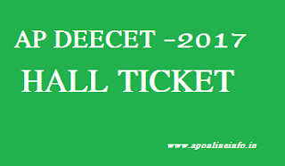 Deecet_AP_online_Hall_ticket_download_2017