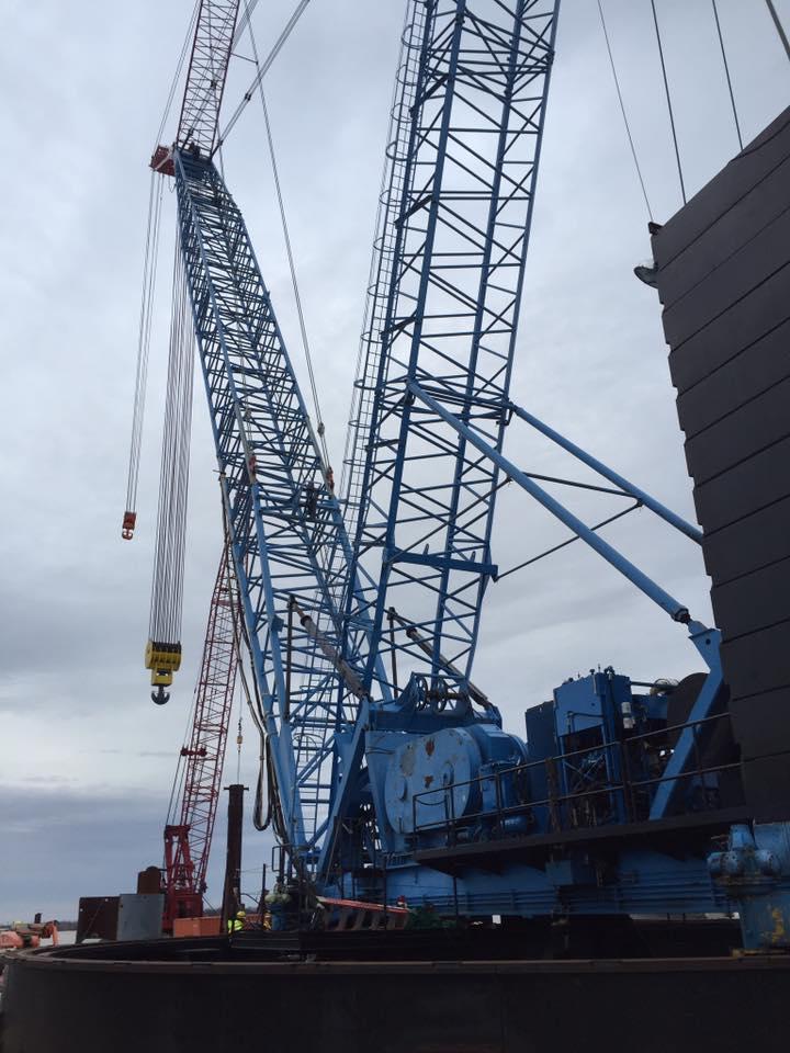 Industrial History: 60-foot ringer crane in the 1980s, Hercules