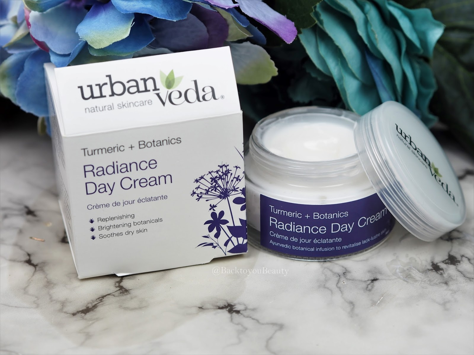 Urban Veda Turmeric + Botanics Radiance Day Cream 50ml
