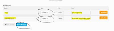 Memasukan CNAME ke Freenom DNS Management