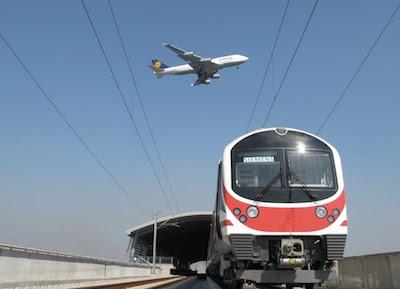 The Airport link to Suvarnabhumi Airport in Bangkok